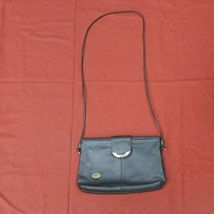Etienne Aigner crossbody purse. Black. GUC
